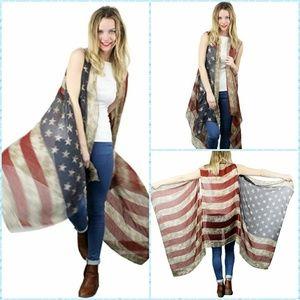 ❤coming soon ❤ American flag vest
